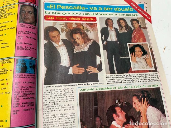 Coleccionismo de Revista Diez Minutos: DIEZ MINUTOS ENERO 1980 SAN BASILIO SARA MONTIEL BARBARA REY HOMBRE RICO HOMBRE POBRE BEE GEES - Foto 5 - 243521180