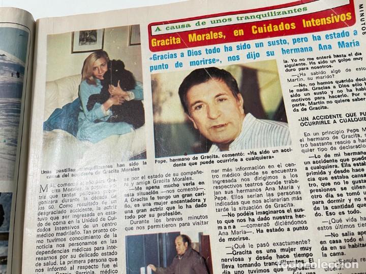 Coleccionismo de Revista Diez Minutos: DIEZ MINUTOS ENERO 1980 SAN BASILIO SARA MONTIEL BARBARA REY HOMBRE RICO HOMBRE POBRE BEE GEES - Foto 6 - 243521180