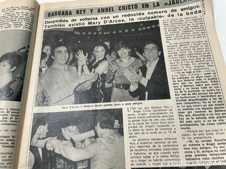 Coleccionismo de Revista Diez Minutos: DIEZ MINUTOS ENERO 1980 SAN BASILIO SARA MONTIEL BARBARA REY HOMBRE RICO HOMBRE POBRE BEE GEES - Foto 7 - 243521180