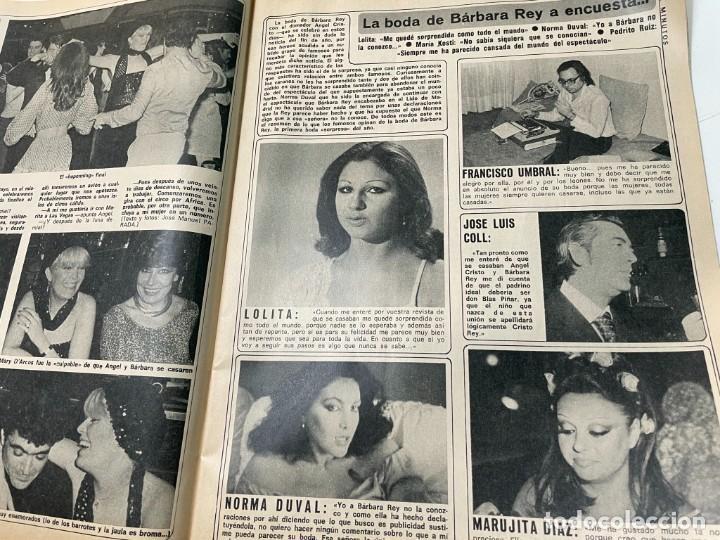 Coleccionismo de Revista Diez Minutos: DIEZ MINUTOS ENERO 1980 SAN BASILIO SARA MONTIEL BARBARA REY HOMBRE RICO HOMBRE POBRE BEE GEES - Foto 8 - 243521180