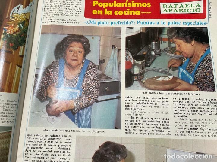 Coleccionismo de Revista Diez Minutos: DIEZ MINUTOS ENERO 1980 SAN BASILIO SARA MONTIEL BARBARA REY HOMBRE RICO HOMBRE POBRE BEE GEES - Foto 10 - 243521180
