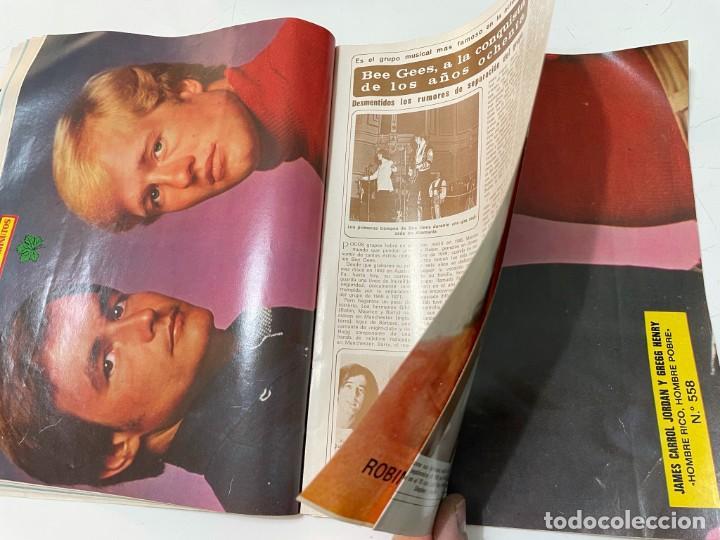 Coleccionismo de Revista Diez Minutos: DIEZ MINUTOS ENERO 1980 SAN BASILIO SARA MONTIEL BARBARA REY HOMBRE RICO HOMBRE POBRE BEE GEES - Foto 11 - 243521180