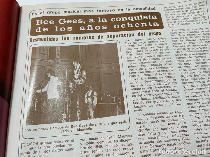 Coleccionismo de Revista Diez Minutos: DIEZ MINUTOS ENERO 1980 SAN BASILIO SARA MONTIEL BARBARA REY HOMBRE RICO HOMBRE POBRE BEE GEES - Foto 12 - 243521180