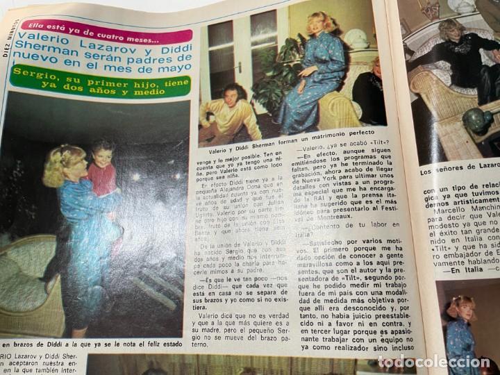 Coleccionismo de Revista Diez Minutos: DIEZ MINUTOS ENERO 1980 SAN BASILIO SARA MONTIEL BARBARA REY HOMBRE RICO HOMBRE POBRE BEE GEES - Foto 15 - 243521180