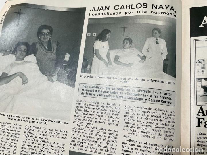 Coleccionismo de Revista Diez Minutos: DIEZ MINUTOS ENERO 1980 SAN BASILIO SARA MONTIEL BARBARA REY HOMBRE RICO HOMBRE POBRE BEE GEES - Foto 16 - 243521180