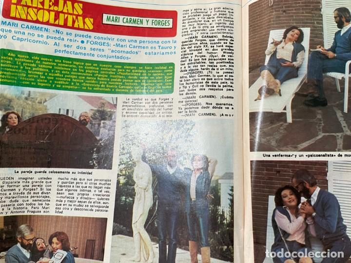 Coleccionismo de Revista Diez Minutos: DIEZ MINUTOS ENERO 1980 SAN BASILIO SARA MONTIEL BARBARA REY HOMBRE RICO HOMBRE POBRE BEE GEES - Foto 17 - 243521180