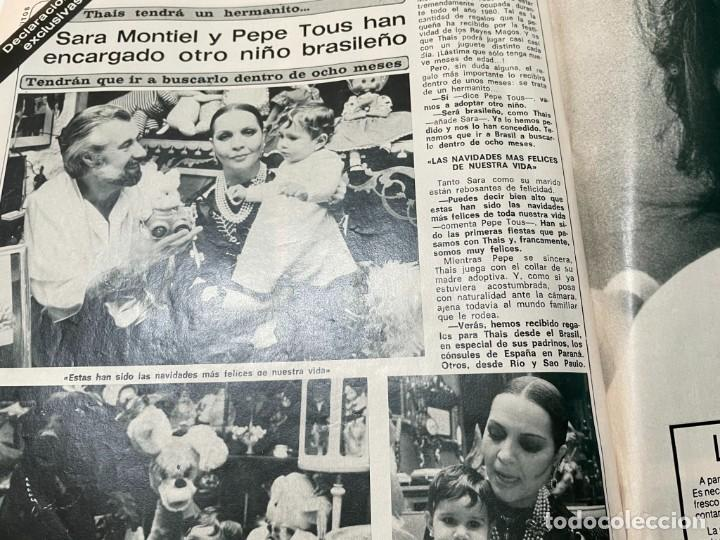 Coleccionismo de Revista Diez Minutos: DIEZ MINUTOS ENERO 1980 SAN BASILIO SARA MONTIEL BARBARA REY HOMBRE RICO HOMBRE POBRE BEE GEES - Foto 18 - 243521180
