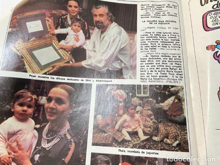 Coleccionismo de Revista Diez Minutos: DIEZ MINUTOS ENERO 1980 SAN BASILIO SARA MONTIEL BARBARA REY HOMBRE RICO HOMBRE POBRE BEE GEES - Foto 19 - 243521180