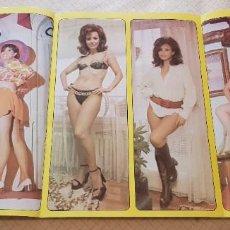 Coleccionismo de Revista Diez Minutos: POSTER TOP SECRET DIEZ MINUTOS - Nº 21 - MARY PAZ PONDAL. Lote 243525705