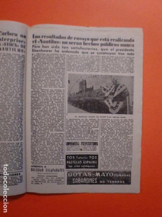 Coleccionismo de Revista Diez Minutos: Nº 180 6 FEBRERO 1955 MARILYN MONROE PORTADA Y ARTICULO INTERIOR - NAUTILUS - Foto 3 - 243911725