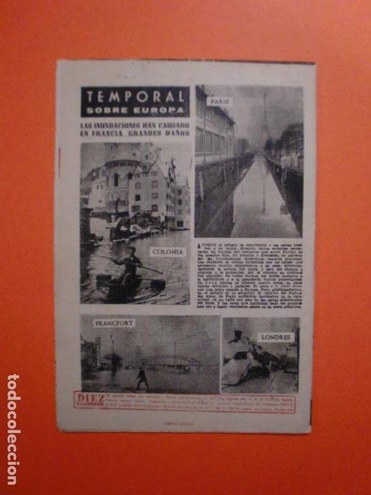 Coleccionismo de Revista Diez Minutos: Nº 180 6 FEBRERO 1955 MARILYN MONROE PORTADA Y ARTICULO INTERIOR - NAUTILUS - Foto 5 - 243911725