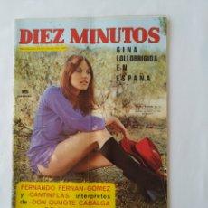 Coleccionismo de Revista Diez Minutos: REVISTA DIEZ MINUTOS,1972 POSTERS SUSANA ESTRADA Y ELVIS, DAVID CASSIDY. Lote 247312570