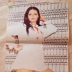 Coleccionismo de Revista Diez Minutos: GRAN PÓSTER REVISTA DIEZ MINUTOS - Nº 19 - ESTHER SANTANA. Lote 253259670