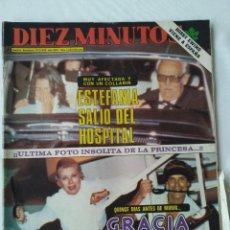 Coleccionismo de Revista Diez Minutos: REVISTA DÍEZ MINUTOS 9/10/82,GRACE DE MONACO,BOBBY EWING,MISS ESPAÑA,XXX S.SEBASTIAN FESTIVAL. Lote 253466395