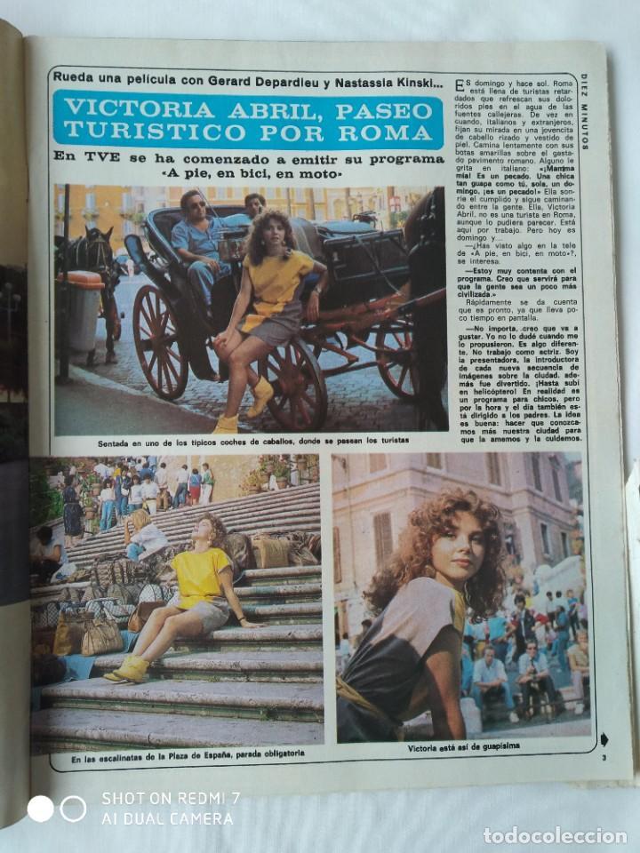 Coleccionismo de Revista Diez Minutos: Revista Díez minutos 9/10/82,Grace de Monaco,Bobby Ewing,Miss España,XXX S.Sebastian festival - Foto 2 - 253466395