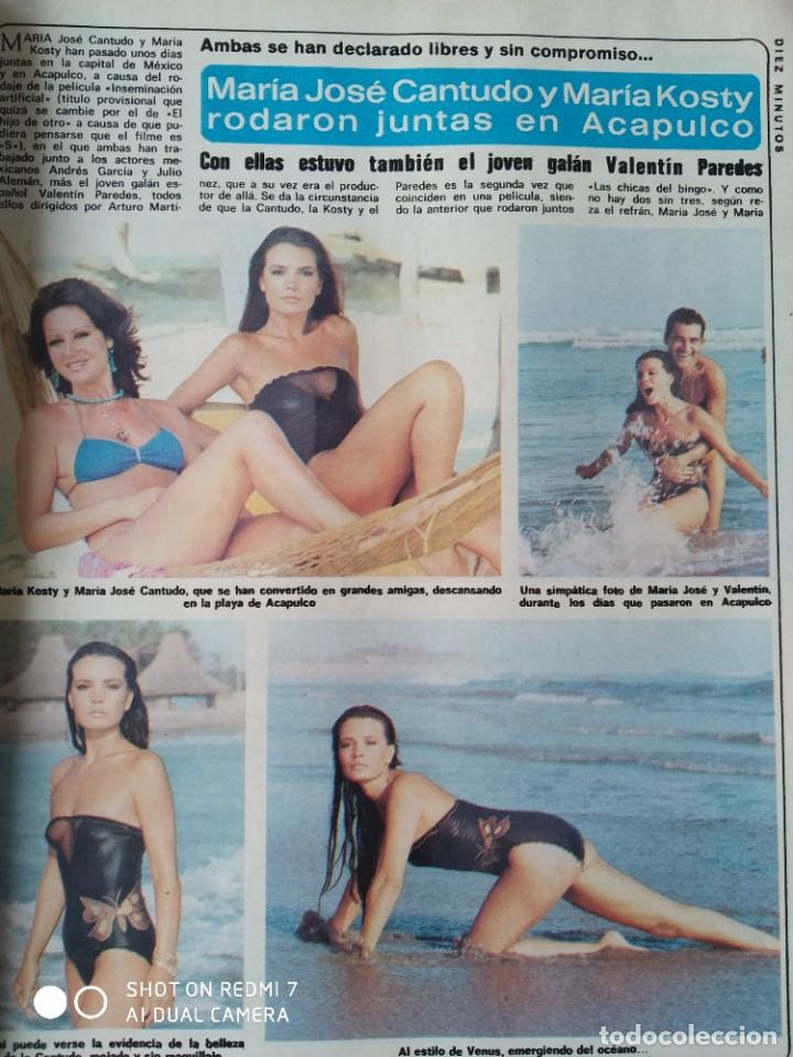 Coleccionismo de Revista Diez Minutos: Revista Díez minutos 9/10/82,Grace de Monaco,Bobby Ewing,Miss España,XXX S.Sebastian festival - Foto 3 - 253466395