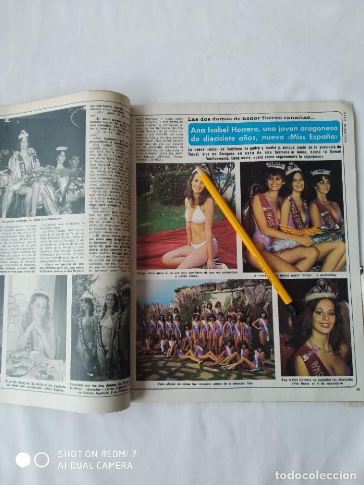 Coleccionismo de Revista Diez Minutos: Revista Díez minutos 9/10/82,Grace de Monaco,Bobby Ewing,Miss España,XXX S.Sebastian festival - Foto 4 - 253466395