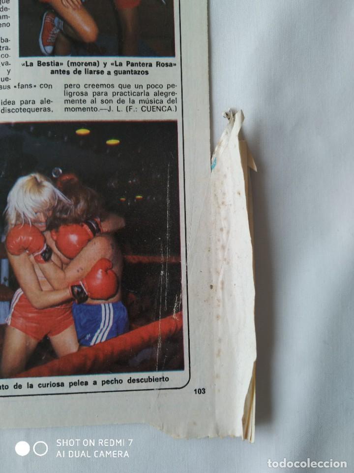 Coleccionismo de Revista Diez Minutos: Revista Díez minutos 9/10/82,Grace de Monaco,Bobby Ewing,Miss España,XXX S.Sebastian festival - Foto 7 - 253466395