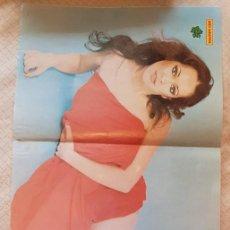 Coleccionismo de Revista Diez Minutos: GRAN PÓSTER REVISTA DIEZ MINUTOS - Nº 225 - DORA MORONI. Lote 253837200