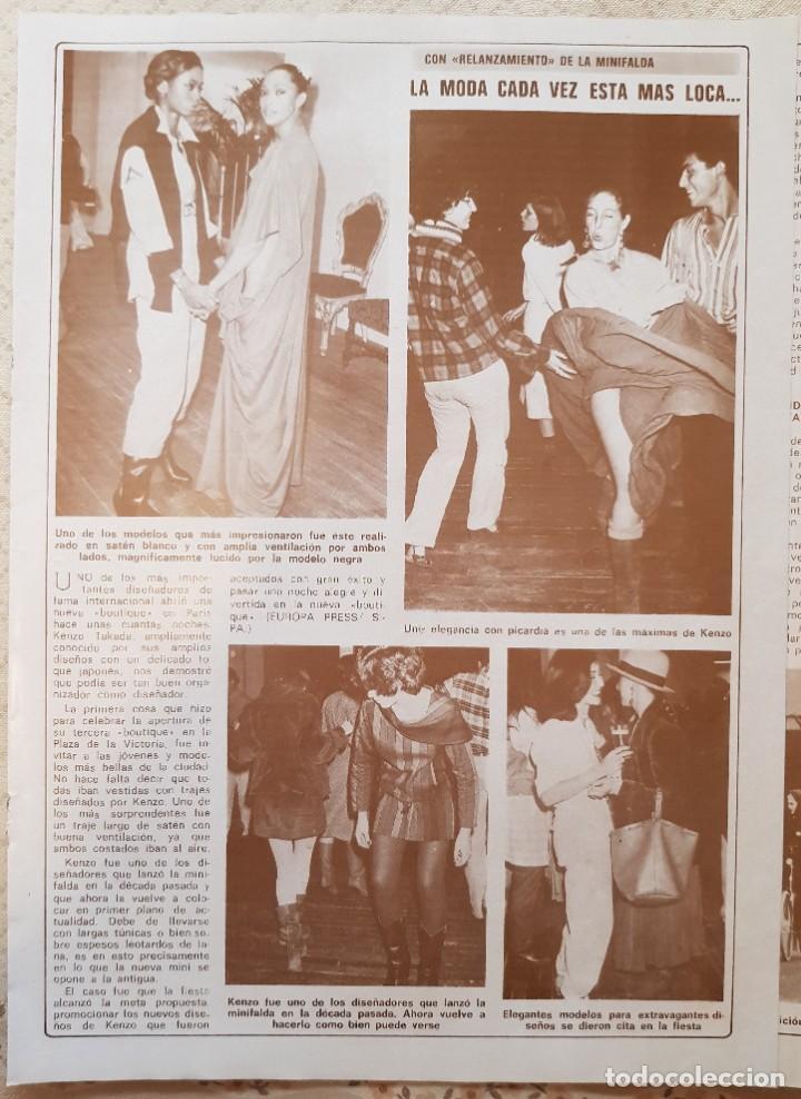 Coleccionismo de Revista Diez Minutos: GRAN PÓSTER REVISTA DIEZ MINUTOS - Nº 391 - CARMEN CONTINELLI - Foto 2 - 253858500
