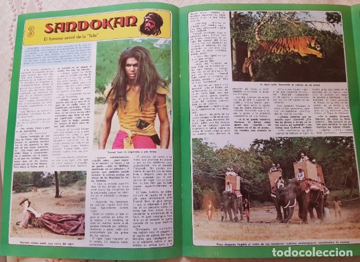 SANDOKÁN - EL FAMOSO SERIAL DE LA TELE - FASCÍCULO 3 - REVISTA DIEZ MINUTOS (Coleccionismo - Revistas y Periódicos Modernos (a partir de 1.940) - Revista Diez Minutos)