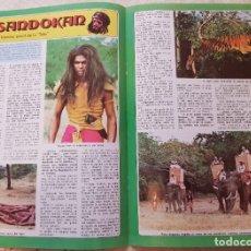 Coleccionismo de Revista Diez Minutos: SANDOKÁN - EL FAMOSO SERIAL DE LA TELE - FASCÍCULO 3 - REVISTA DIEZ MINUTOS. Lote 253860225