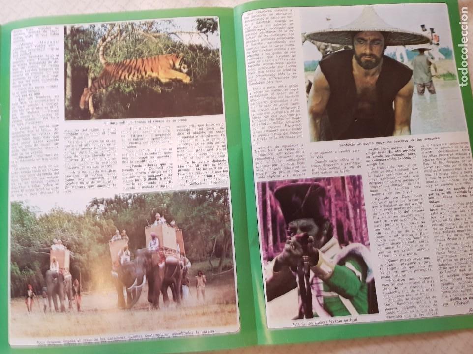 Coleccionismo de Revista Diez Minutos: SANDOKÁN - EL FAMOSO SERIAL DE LA TELE - FASCÍCULO 3 - REVISTA DIEZ MINUTOS - Foto 2 - 253860225