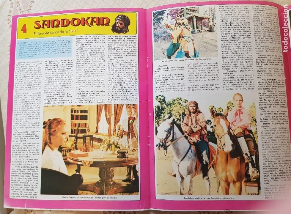 SANDOKÁN - EL FAMOSO SERIAL DE LA TELE - FASCÍCULO 4 - REVISTA DIEZ MINUTOS (Coleccionismo - Revistas y Periódicos Modernos (a partir de 1.940) - Revista Diez Minutos)