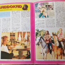 Coleccionismo de Revista Diez Minutos: SANDOKÁN - EL FAMOSO SERIAL DE LA TELE - FASCÍCULO 4 - REVISTA DIEZ MINUTOS. Lote 253860920