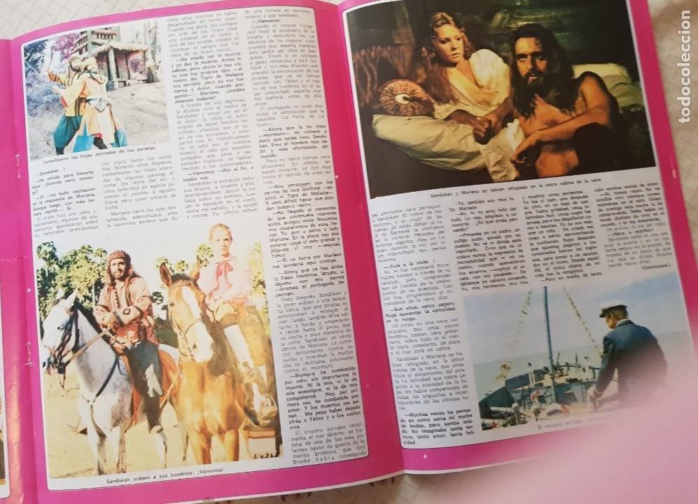 Coleccionismo de Revista Diez Minutos: SANDOKÁN - EL FAMOSO SERIAL DE LA TELE - FASCÍCULO 4 - REVISTA DIEZ MINUTOS - Foto 2 - 253860920