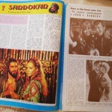 Coleccionismo de Revista Diez Minutos: SANDOKÁN - EL FAMOSO SERIAL DE LA TELE - FASCÍCULO 7 - REVISTA DIEZ MINUTOS. Lote 253861695