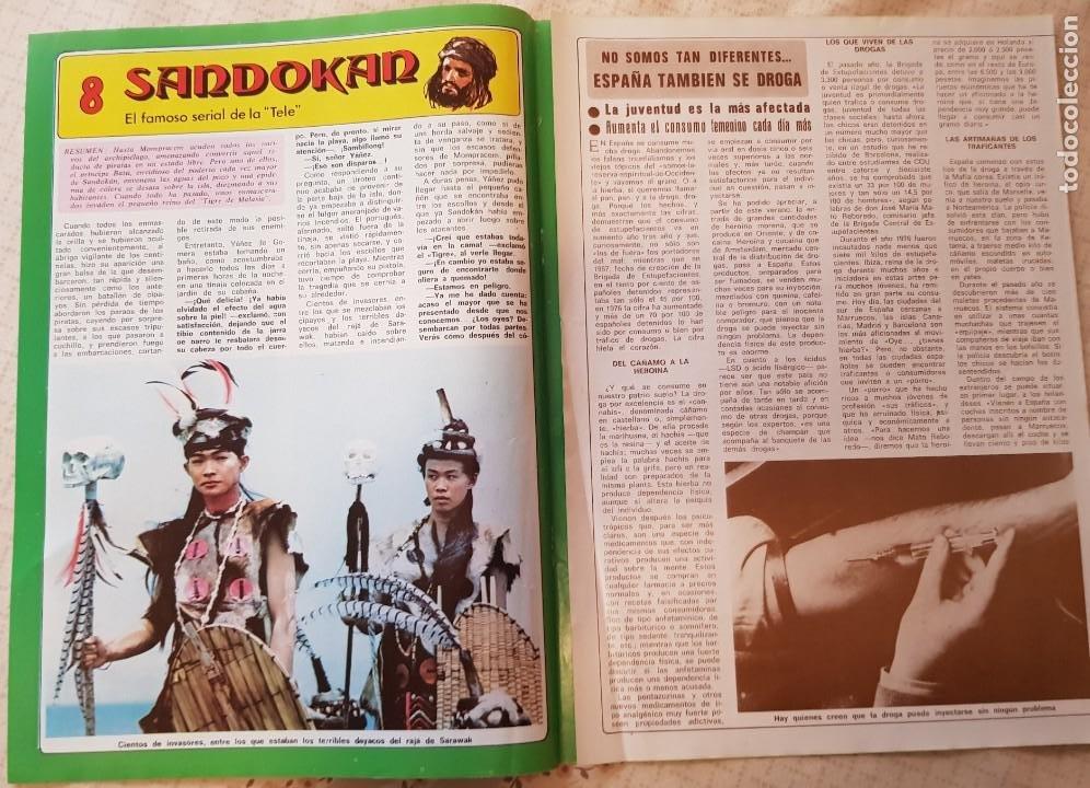 SANDOKÁN - EL FAMOSO SERIAL DE LA TELE - FASCÍCULO 8 - REVISTA DIEZ MINUTOS (Coleccionismo - Revistas y Periódicos Modernos (a partir de 1.940) - Revista Diez Minutos)