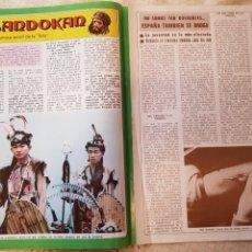 Coleccionismo de Revista Diez Minutos: SANDOKÁN - EL FAMOSO SERIAL DE LA TELE - FASCÍCULO 8 - REVISTA DIEZ MINUTOS. Lote 253861845