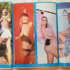 Coleccionismo de Revista Diez Minutos: SEX PÓSTER TOP SECRET - Nº 10 - MARÍA KOSTI - REVISTA DIEZ MINUTOS. Lote 253864315