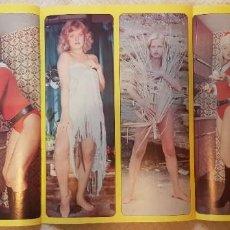 Coleccionismo de Revista Diez Minutos: SEX PÓSTER TOP SECRET - Nº 49 - MARCIA BELL - REVISTA DIEZ MINUTOS. Lote 253895695