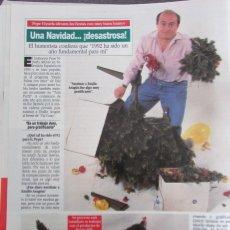 Coleccionismo de Revista Diez Minutos: RECORTE REVISTA DIEZ MINUTOS N.º 2158 1993 PEPE VIYUELA. Lote 254987660