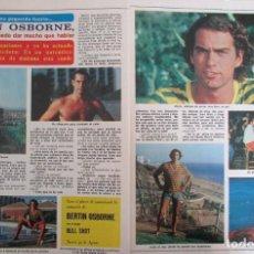 Coleccionismo de Revista Diez Minutos: RECORTE REVISTA DIEZ MINUTOS N.º 1465 1979 BERTÍN OSBORNE. Lote 254992495