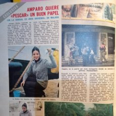 Collectionnisme de Magazine Diez Minutos: AMPARO MUÑOZ MISS ESPAÑA UNIVERSO. Lote 255665925