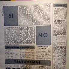 Coleccionismo de Revista Diez Minutos: ELVIS PRESLEY. Lote 255666970