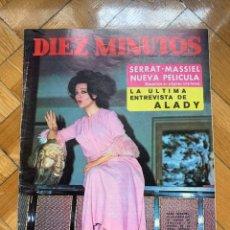 Coleccionismo de Revista Diez Minutos: DIEZ MINUTOS Nº 893. Lote 256033915