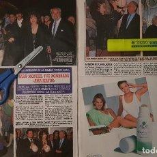 Coleccionismo de Revista Diez Minutos: REPORTAJE SARA MONTIEL. REVISTA DÍEZ MINUTOS 02/05/89. Lote 256074540