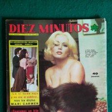 Coleccionismo de Revista Diez Minutos: DIEZ MINUTOS AGATHA LYS, UN DOS TRES, SANDOKAN. VER SUMARIO. Lote 257488340