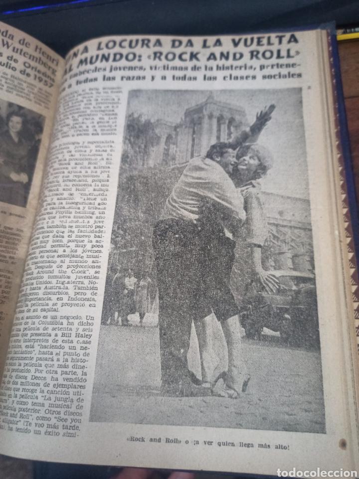 Coleccionismo de Revista Diez Minutos: SUCESOS. CRÓNICA SENTIMENTAL DEL MES. Nº 37-47 + DIEZ MINUTOS. 11 VOL. GRÁFICAS ESPEJO. MADRID, 1956 - Foto 2 - 259228080