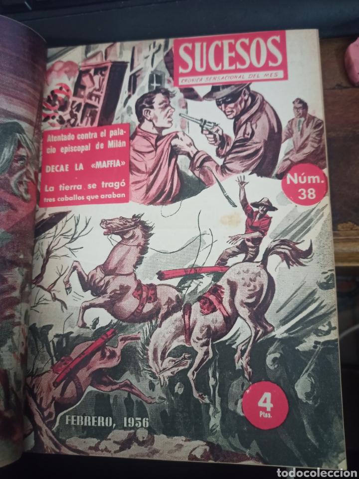 SUCESOS. CRÓNICA SENTIMENTAL DEL MES. Nº 37-47 + DIEZ MINUTOS. 11 VOL. GRÁFICAS ESPEJO. MADRID, 1956 (Coleccionismo - Revistas y Periódicos Modernos (a partir de 1.940) - Revista Diez Minutos)