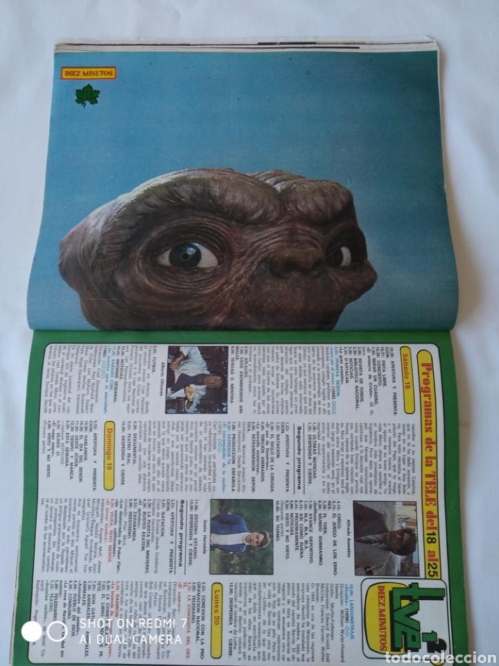 Coleccionismo de Revista Diez Minutos: Revista Díez minutos num 1635 1982, Francisco Franco jr,E.T y mas - Foto 3 - 261125590