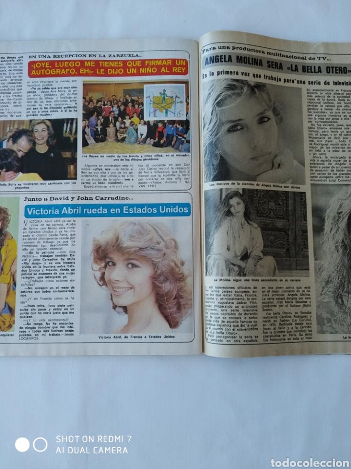 Coleccionismo de Revista Diez Minutos: Revista Díez minutos num 1635 1982, Francisco Franco jr,E.T y mas - Foto 6 - 261125590