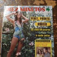 Coleccionismo de Revista Diez Minutos: REVISTA 10 MINUTOS (13-09-1975, AÑO XXV, N° 1255). Lote 261143405