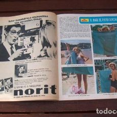 Coleccionismo de Revista Diez Minutos: DIEZ MINUTOS / ROCIO DURCAL, SILVIA TORTOSA, JEANETTE, GILBERT BECAUD, RAPHAEL, TERENCE HILL. Lote 261599590