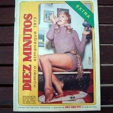 Coleccionismo de Revista Diez Minutos: DIEZ MINUTOS EXTRA ALMANAQUE / CALENDARIO 1973 / AGATA LYS, DAGMAR LASSANDER, HELGA LINE, BARDOT ++. Lote 261812935