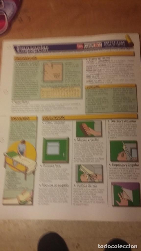 Coleccionismo de Revista Diez Minutos: 3 láminas de Casa Diez (Revista Diez Minutos).Mes de mayo, electricidad y empapelar - Foto 3 - 261871670